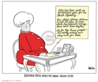 Cartoonist Ann Telnaes  Ann Telnaes' Editorial Cartoons 2006-12-22 mother